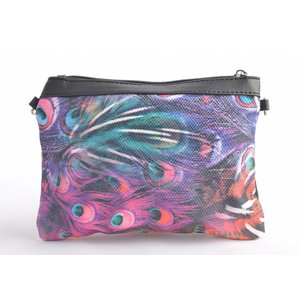 "Clutch ""Peacock"" multi"