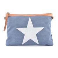 "Clutch ""Star"" blue"