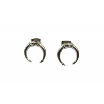 Ohrring  |  Symbol | Stainless Steel | Silver