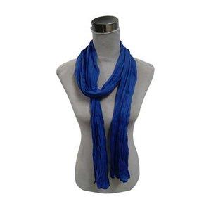 """Sjaal """"Uni Jersey S"""" blauw"""