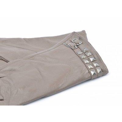 Handschuhe Leder doppelt Gürtel (895222)