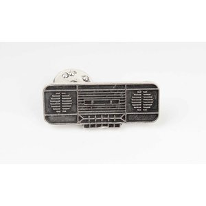 Pin vintage radio, per 3st. NETTO