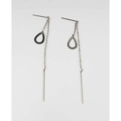 Earring stainless steel (358113)