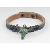 Armband Leder longhorn (327783)