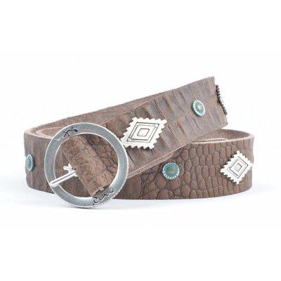 """Rove Belt, """"Aztek"""" brown"""