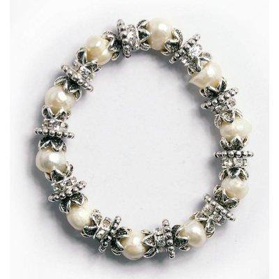 Armband natuur parels (326491)