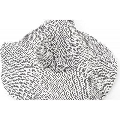Flaphoed zigzag zwart/wit (895278)