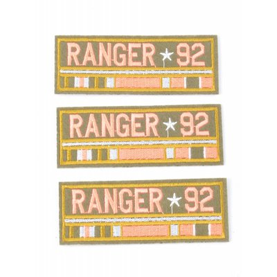Patch ranger 92, per 3st. (382664)
