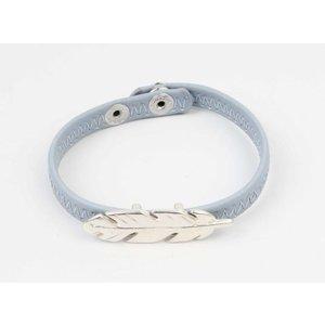 Armband veer blauw