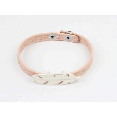 Armband veer roze (327824)