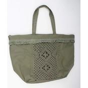 Shopper borduursel groen (611293)