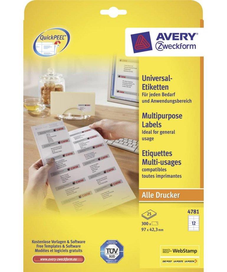 Avery 4781