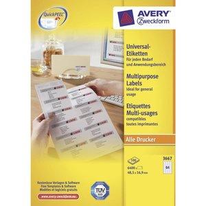 Avery 3667