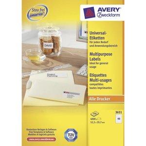 Avery 3651