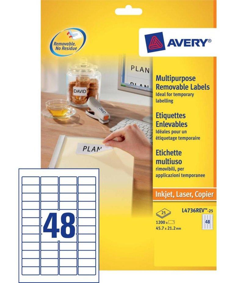 Avery L4736REV-25