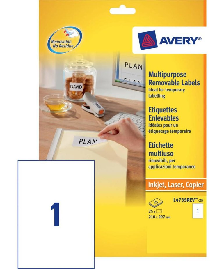 Avery L4735REV-25