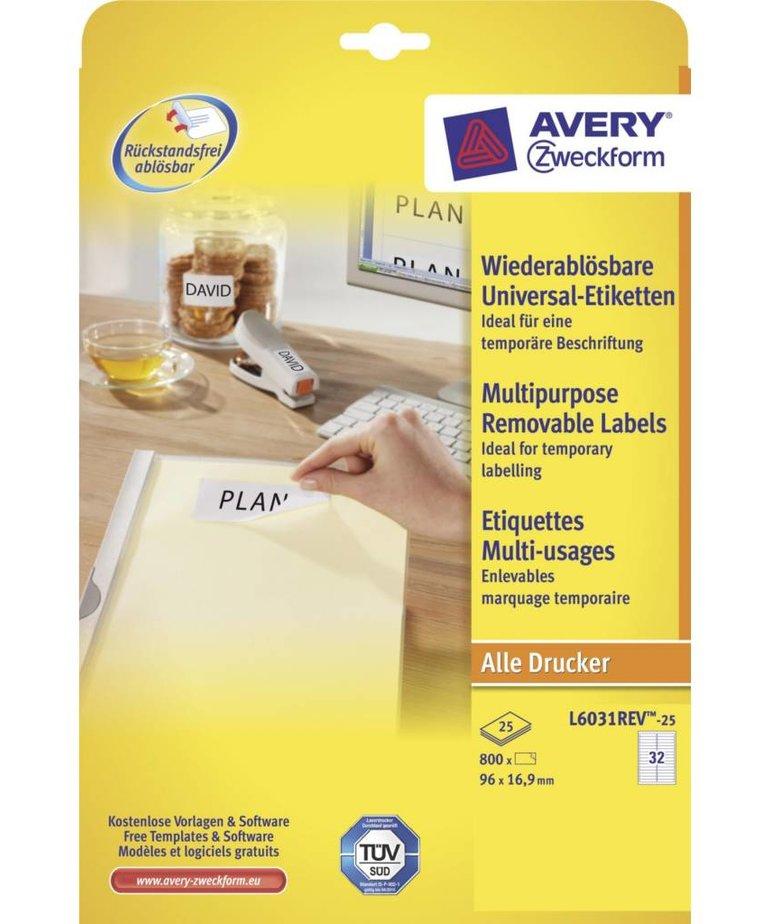 Avery L6031REV-25