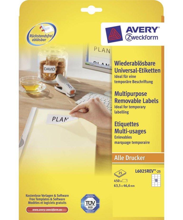 Avery L6025REV-25