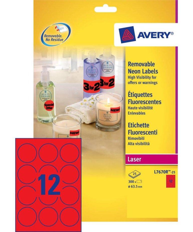 Avery L7670R-25