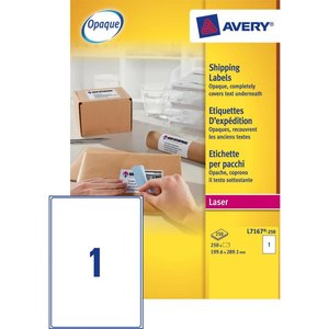 Avery L7167-250