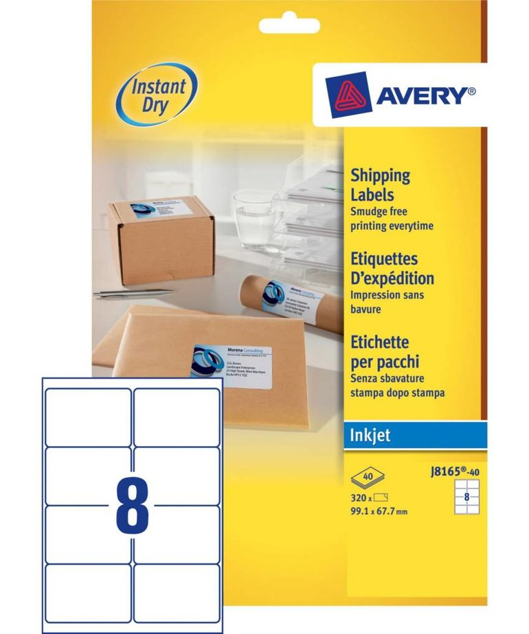 Avery J8165-40