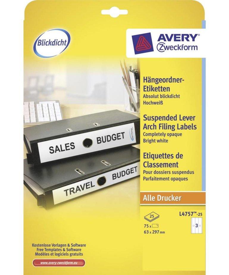 Avery L4757-25