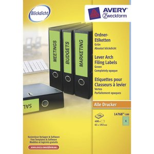 Avery L4768-100