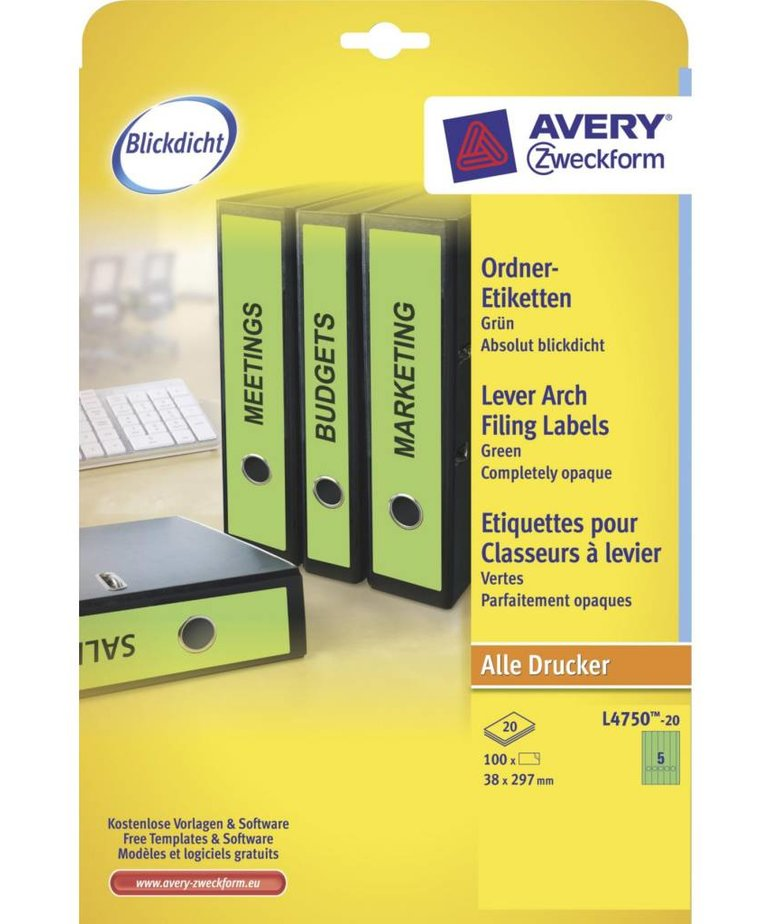 Avery L4750-20