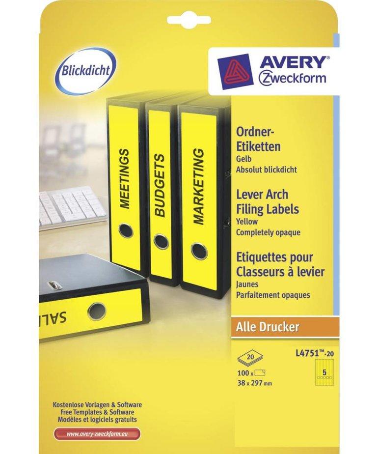 Avery L4751-20