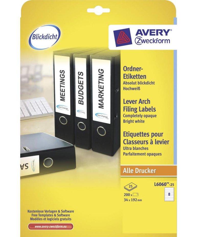 Avery L6060-25