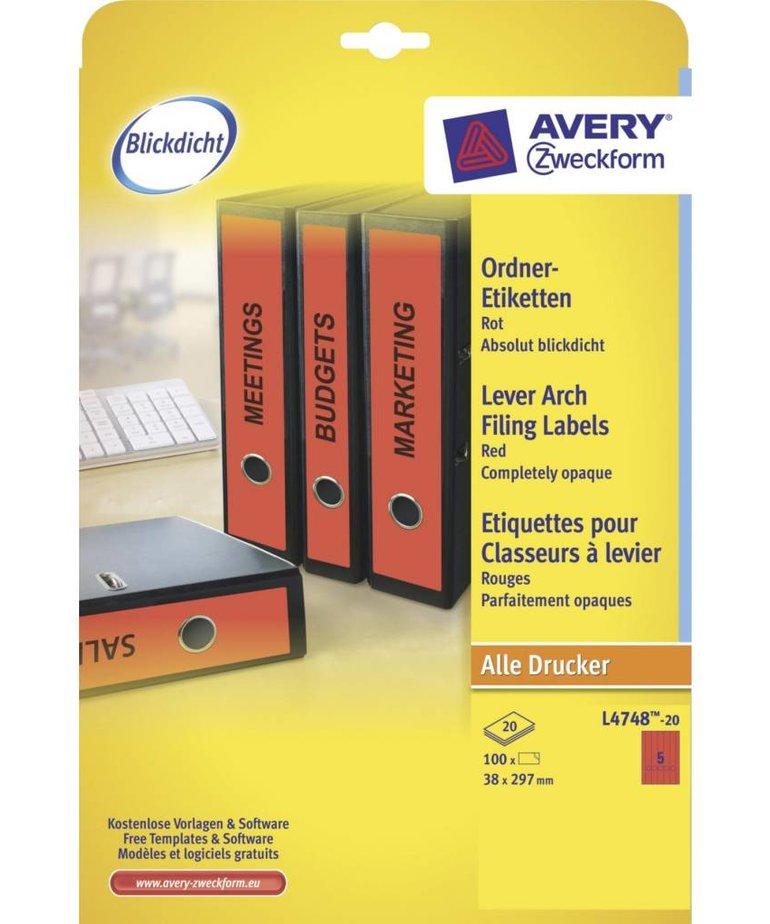 Avery L4748-20
