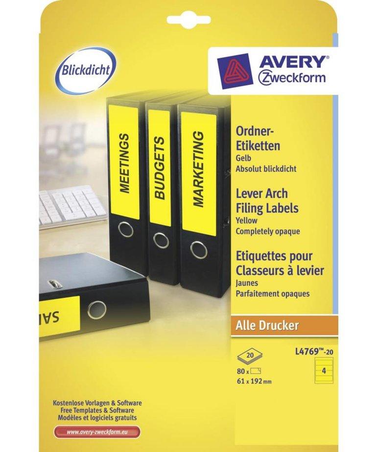 Avery L4769-20