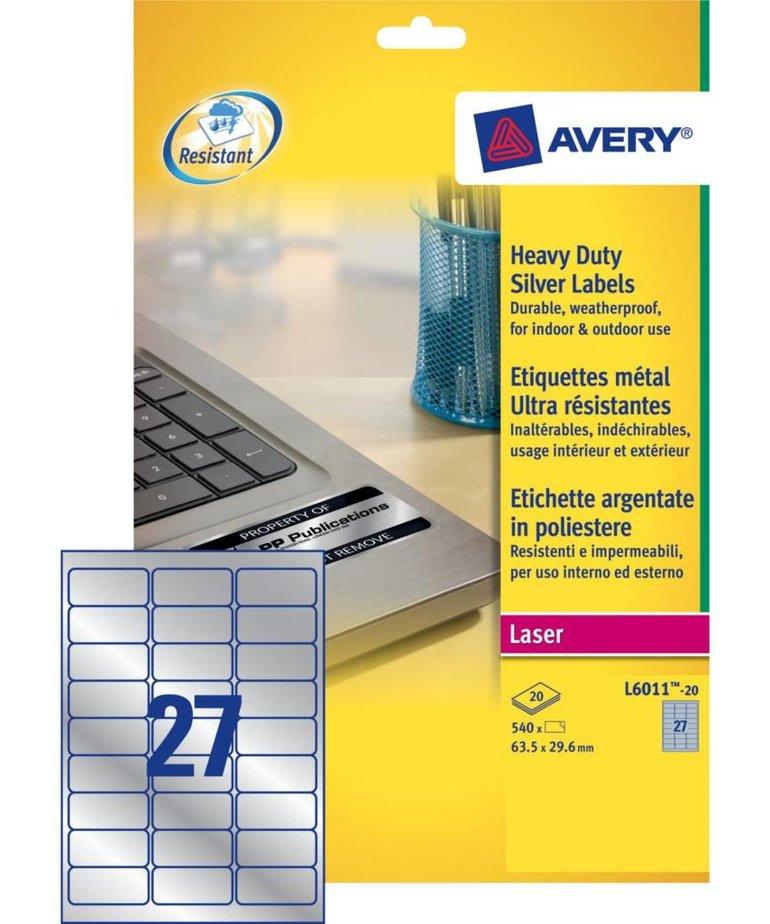 Avery L6011-20