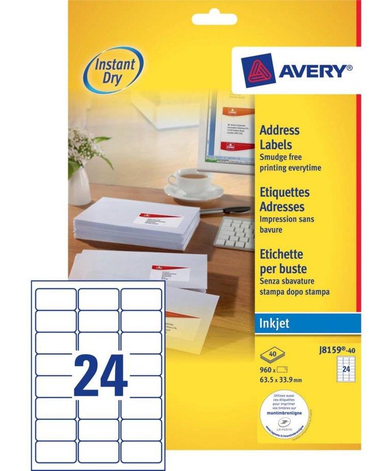 Avery J8159-40