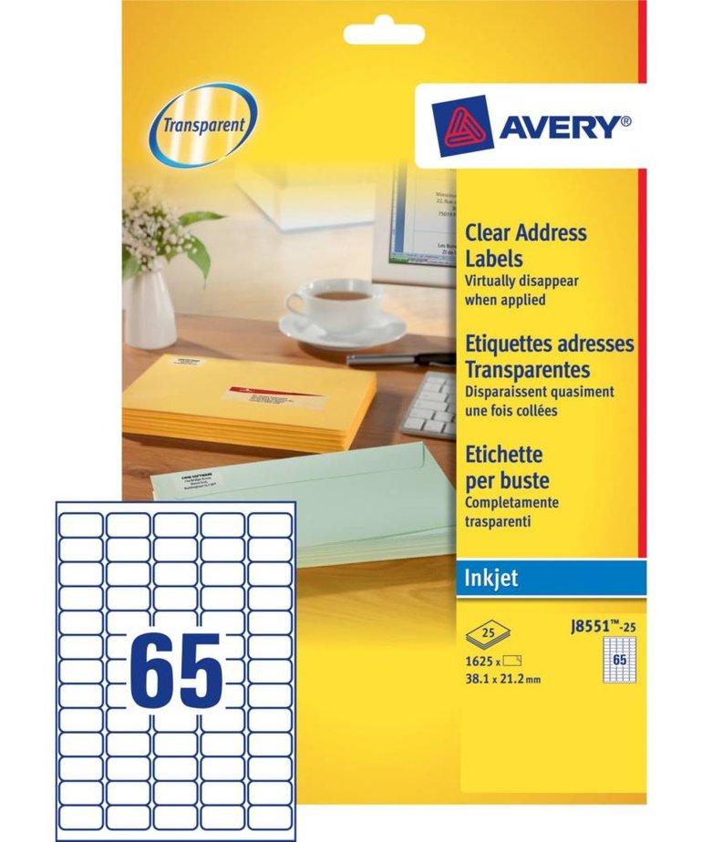 Avery J8551-25