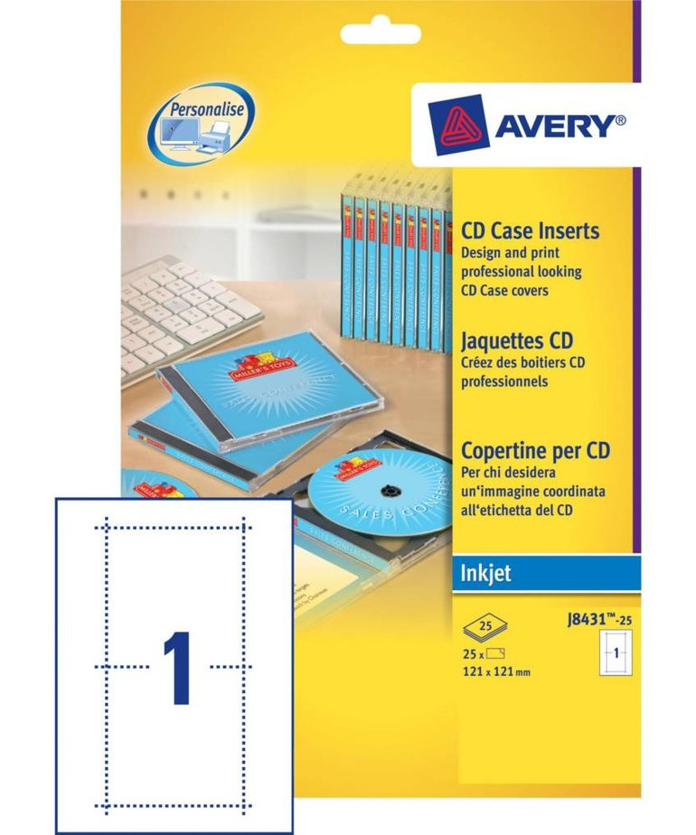 Avery J8431-25