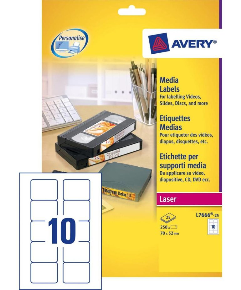 Avery L7666-25