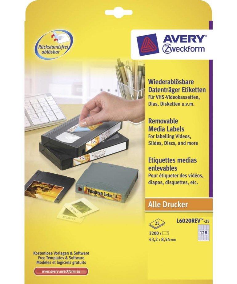 Avery L6020REV-25