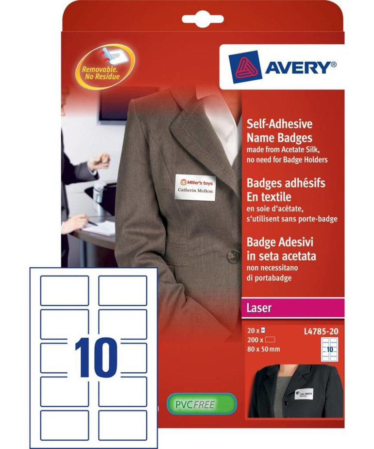 Avery L4785-20