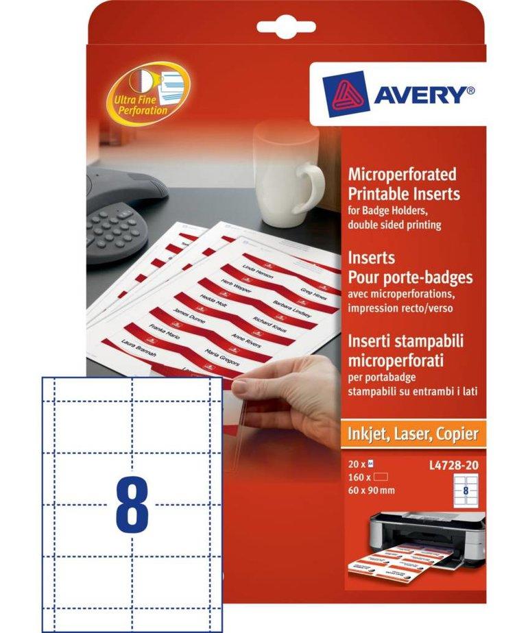 Avery L4728-20