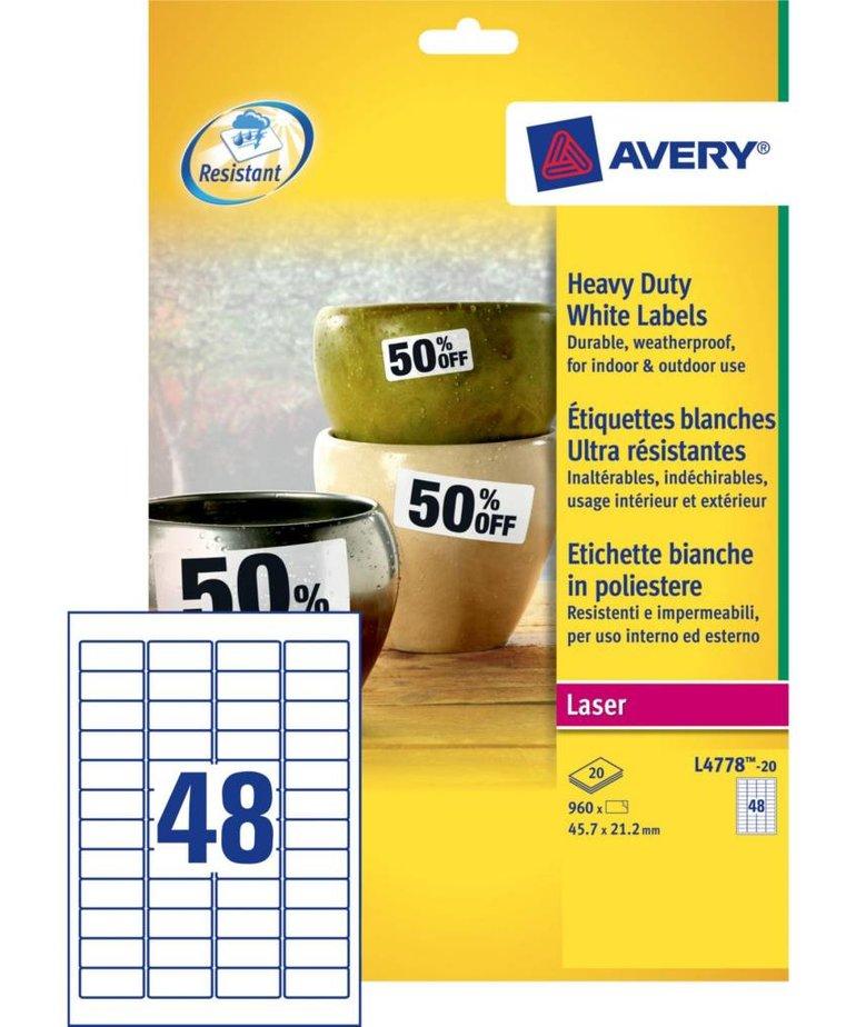 Avery L4778-20