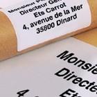 Verzendetiketten voor pakketten