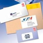 Adresetiketten voor enveloppen