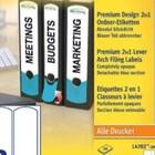 Premium Design 2in1 ordnerrugetiketten