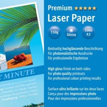 Kleurenlaserprinter glossy Fotopapier