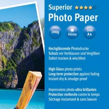 Inkjetprinter Glossy  Fotopapier