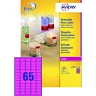 Avery L7651/PF-100