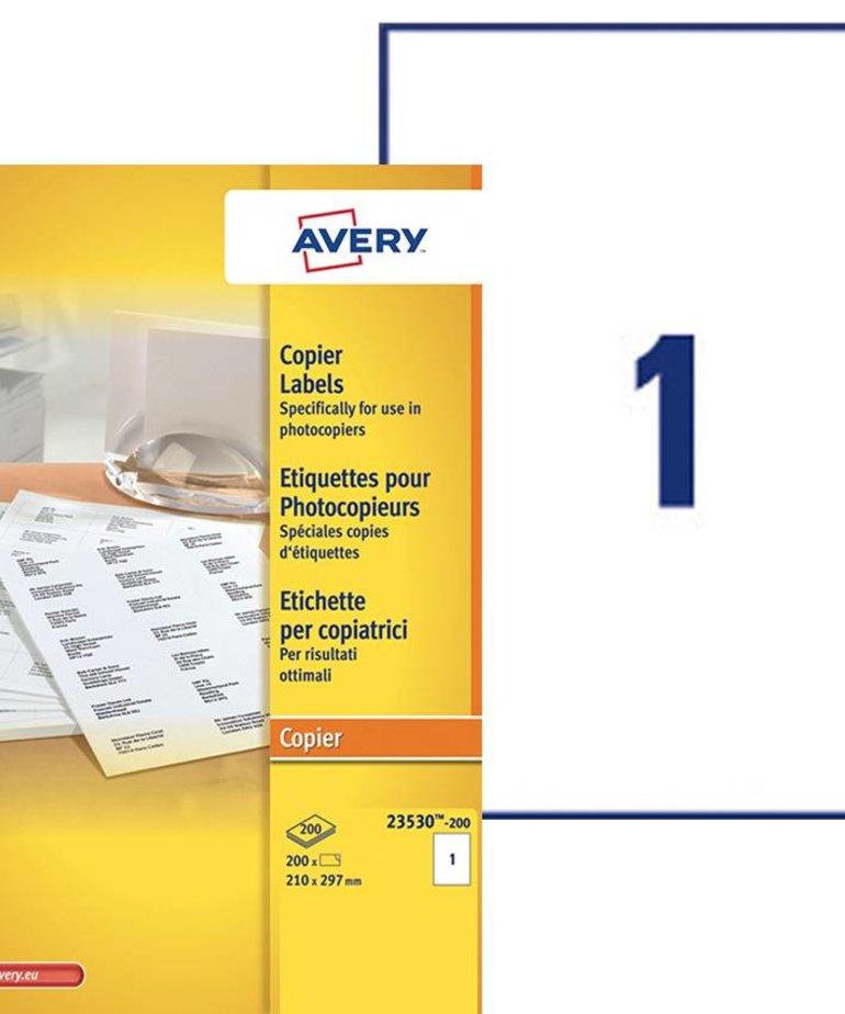 Avery 23530-200