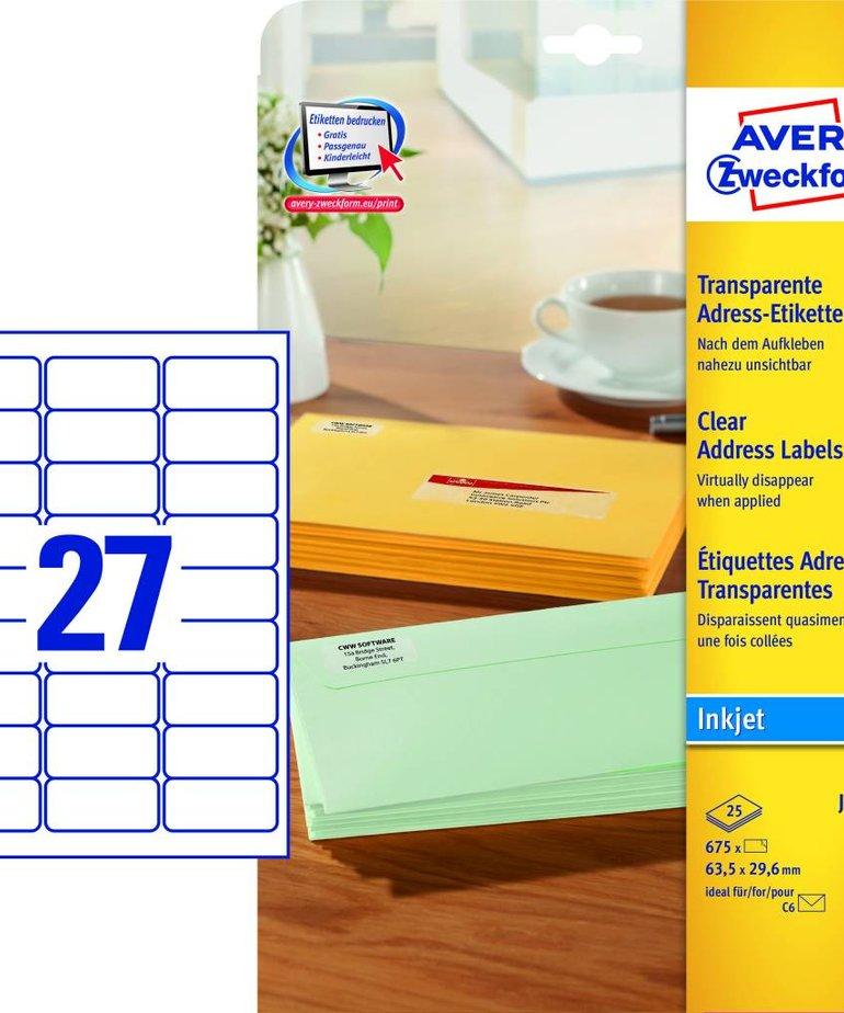 Avery J4721-25