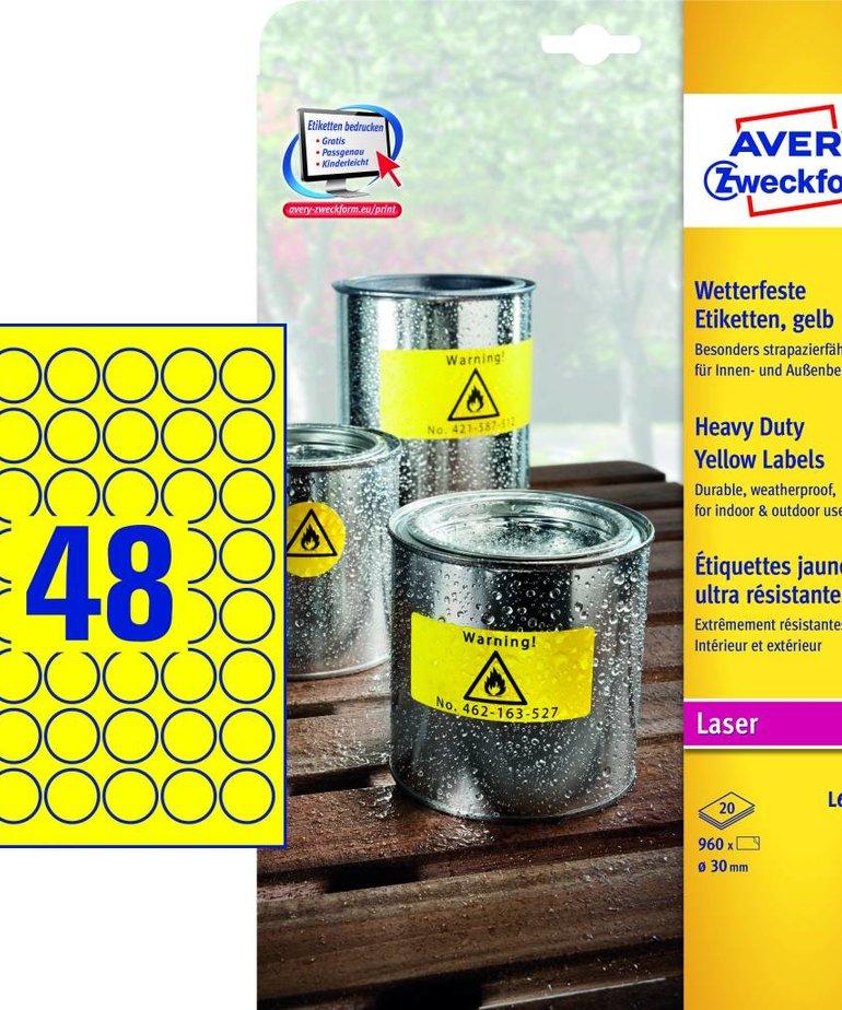 Avery L6128-20